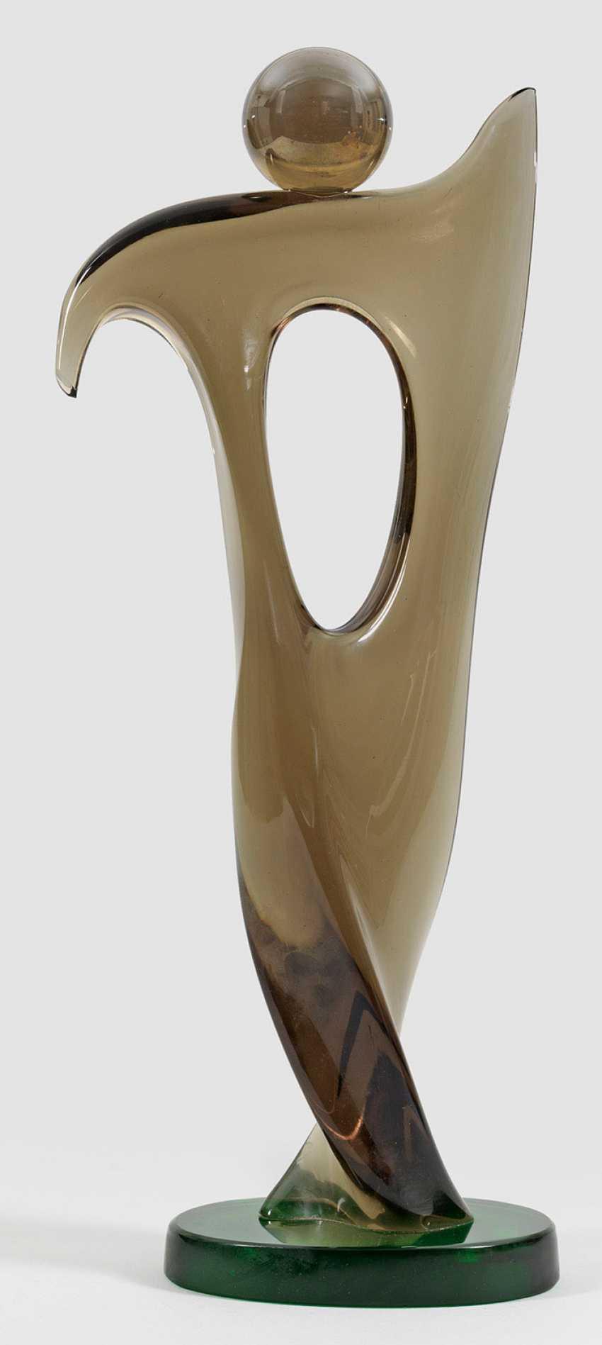 Modern glass sculpture of Signoritto Pino - photo 1