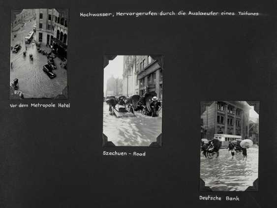 Three photo albums with pictures from Shanghai before and during the Anti-Japanese war - photo 2