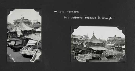 Three photo albums with pictures from Shanghai before and during the Anti-Japanese war - photo 3