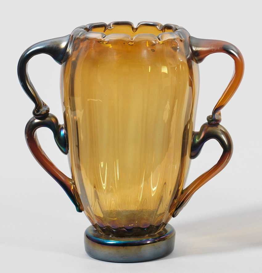 Large Double Handle Vase - photo 1