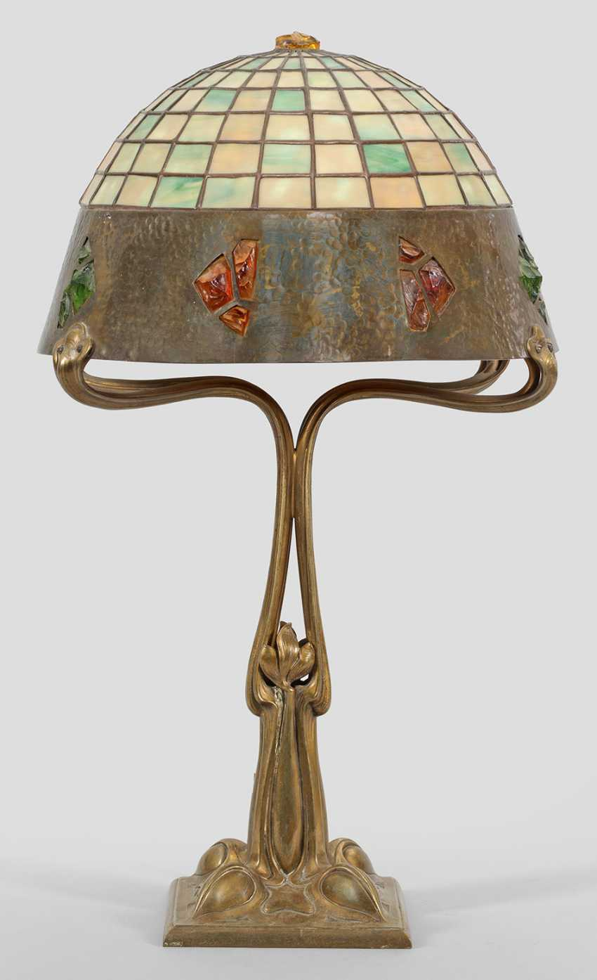Art Nouveau Table Lamp - photo 1