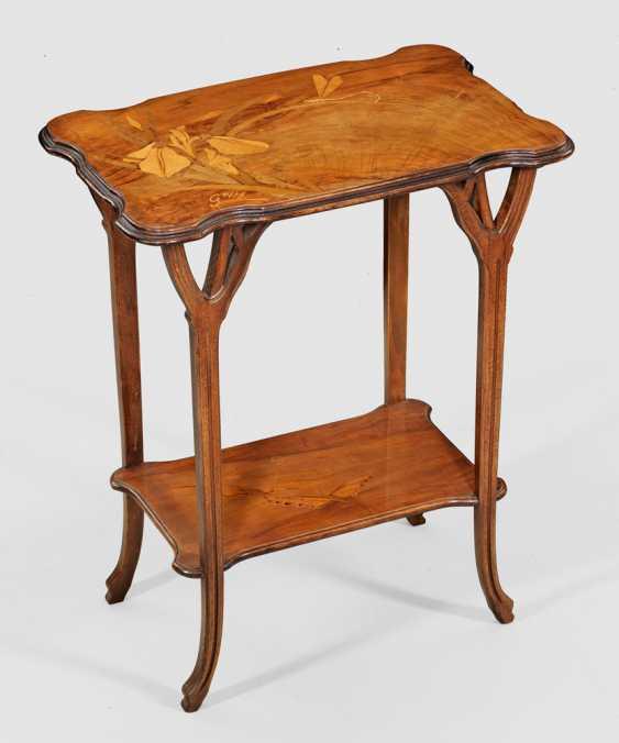 Art Nouveau side table by Emile Gallé - photo 1
