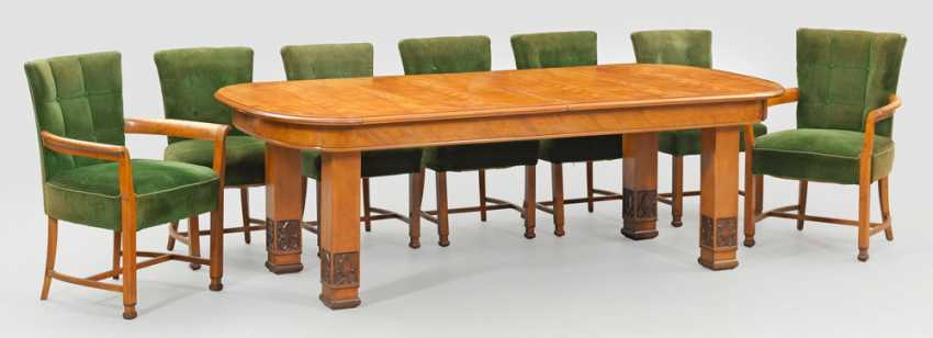 Art Deco table group by Ludwig Vierthaler - photo 1