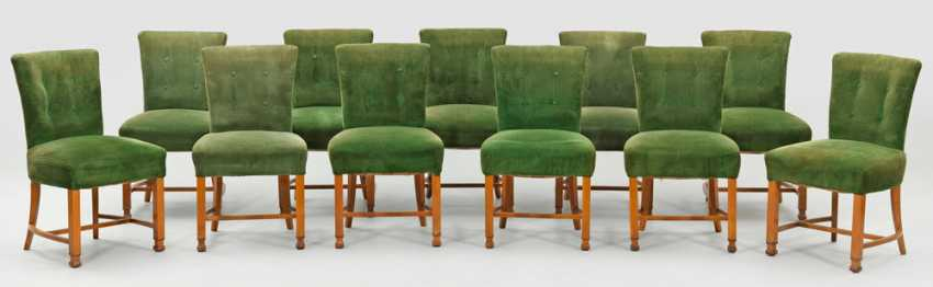 Art Deco table group by Ludwig Vierthaler - photo 2