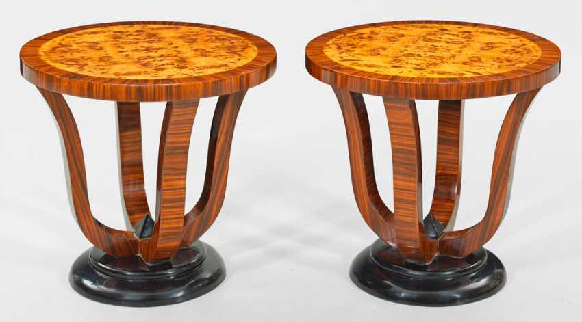 Pair of side tables in Art Deco style - photo 1