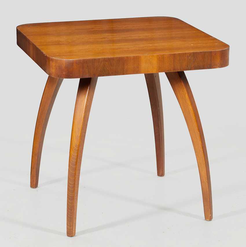 Art Deco Smoking table by Jindrich Halabala - photo 1