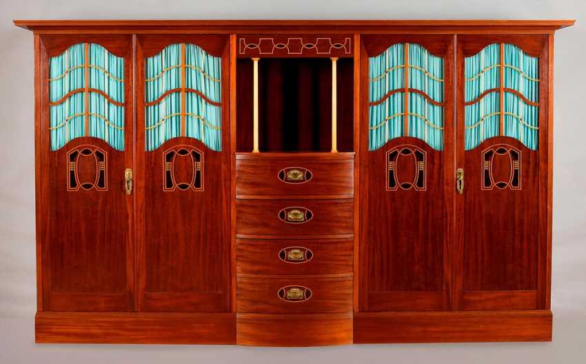 Extensive Art-Deco-Bedroom-Ameublement - photo 4