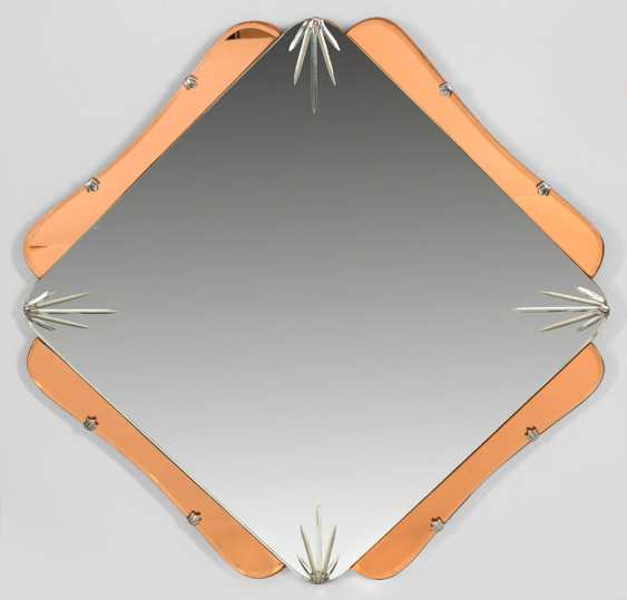 Art Deco Wall Mirror - photo 1