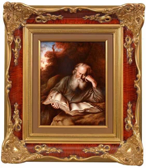 "Porcelain Painting ""Hermit"" - photo 1"