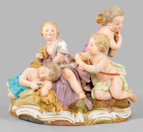 Cupids group as an allegory of summer - photo 1