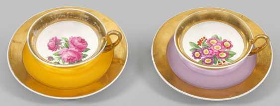 Pair Of Biedermeier Cups - photo 1