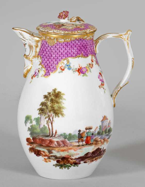 Small jug with Teniers scenes - photo 1