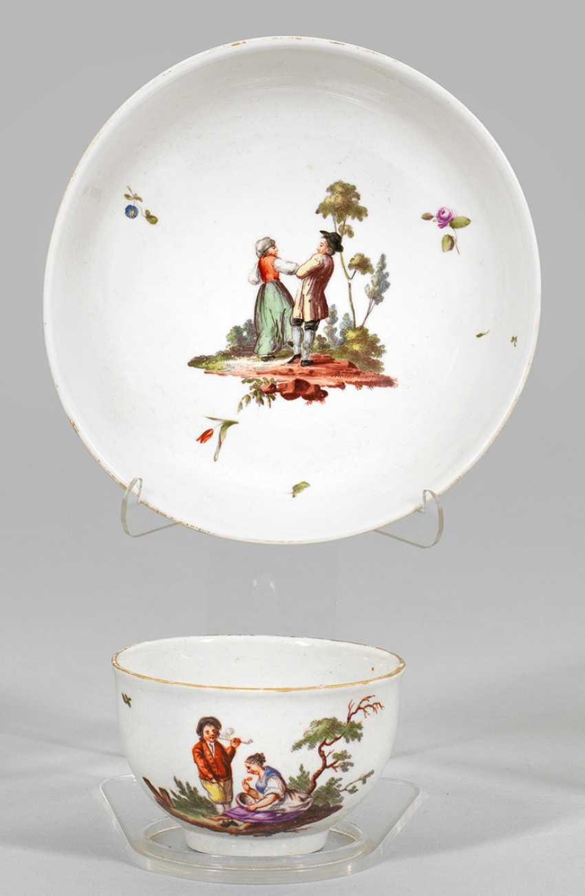Ziertasse with Teniers decor - photo 1