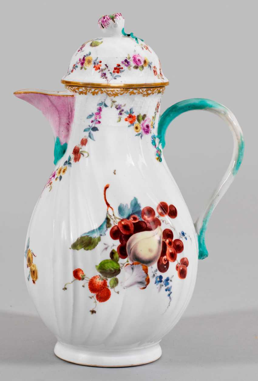 Coffee pot with Fruit design - photo 1