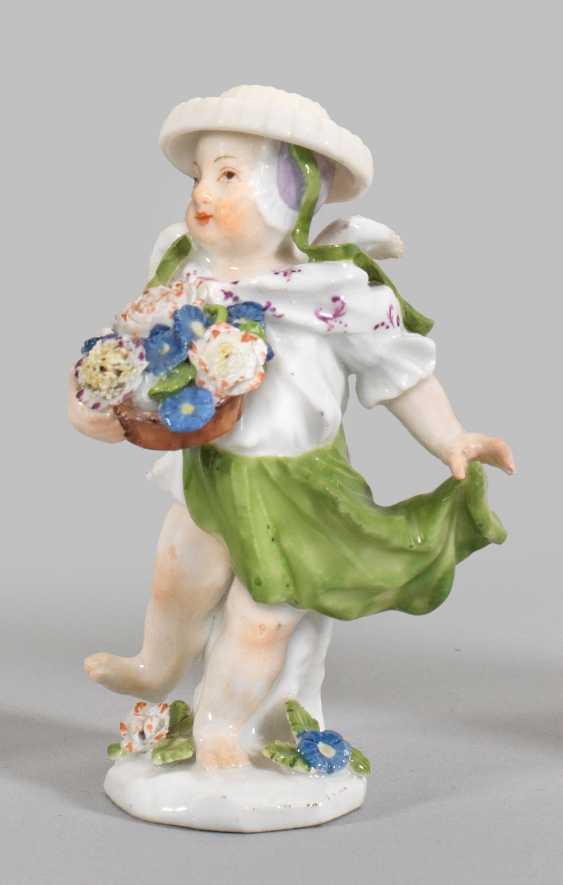 Cupid as a gardener child - photo 1