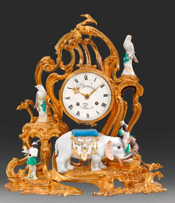 Magnificent Pendule as an allegory of Africa - photo 1