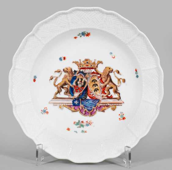 Plate with the coat of arms of the Imperial counts of Sulkowski - photo 1
