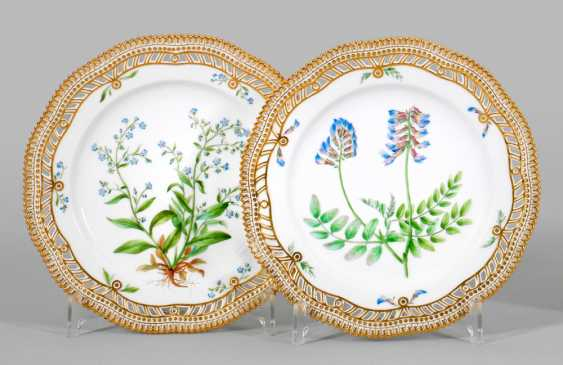 "Couple Of ""Flora Danica"" Plates - photo 1"