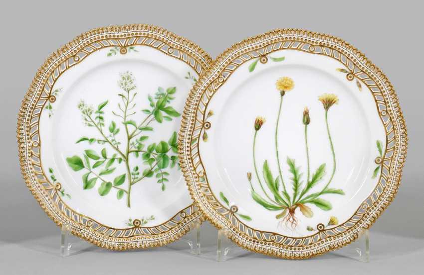 "Couple Of ""Flora Danica""Plates - photo 1"