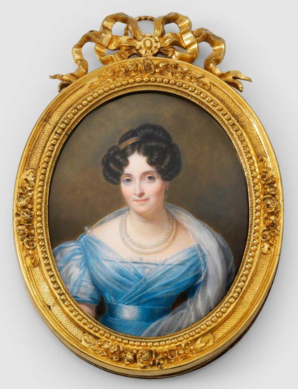 Portrait of a noble lady - photo 1