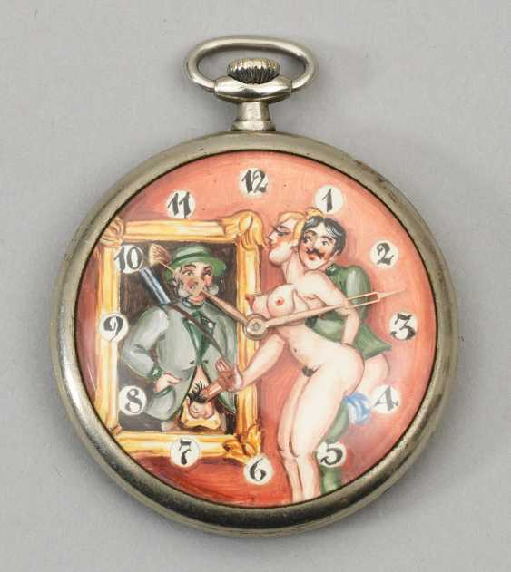 Pocket watch with Erotica - photo 1