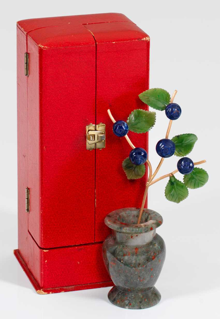 Blueberry branch with Vase - photo 1