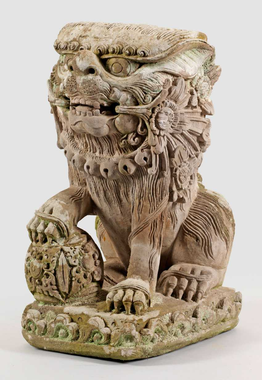Large Guardian Lion - photo 1