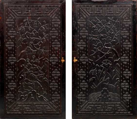 Pair of Chinese door elements - photo 1