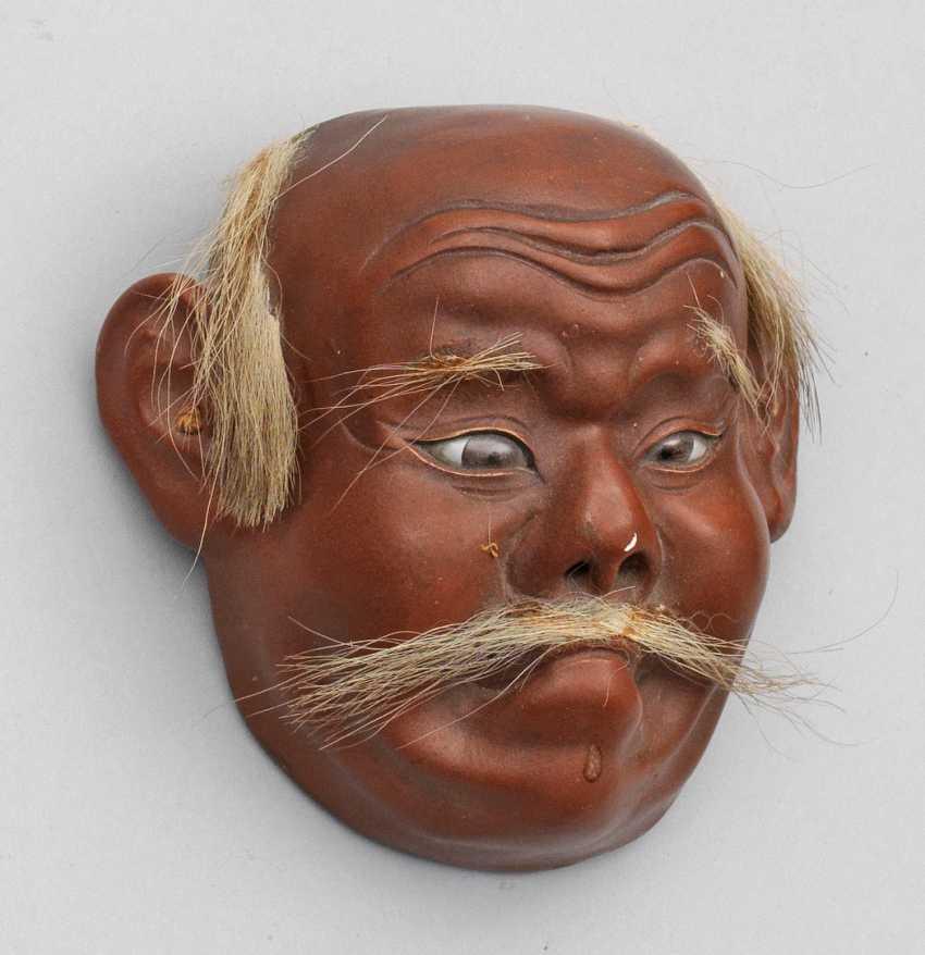 Nô mask of a man - photo 1