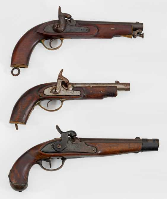 Three Percussion Pistols - photo 1