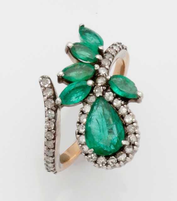 Russian Emerald Ring - photo 1