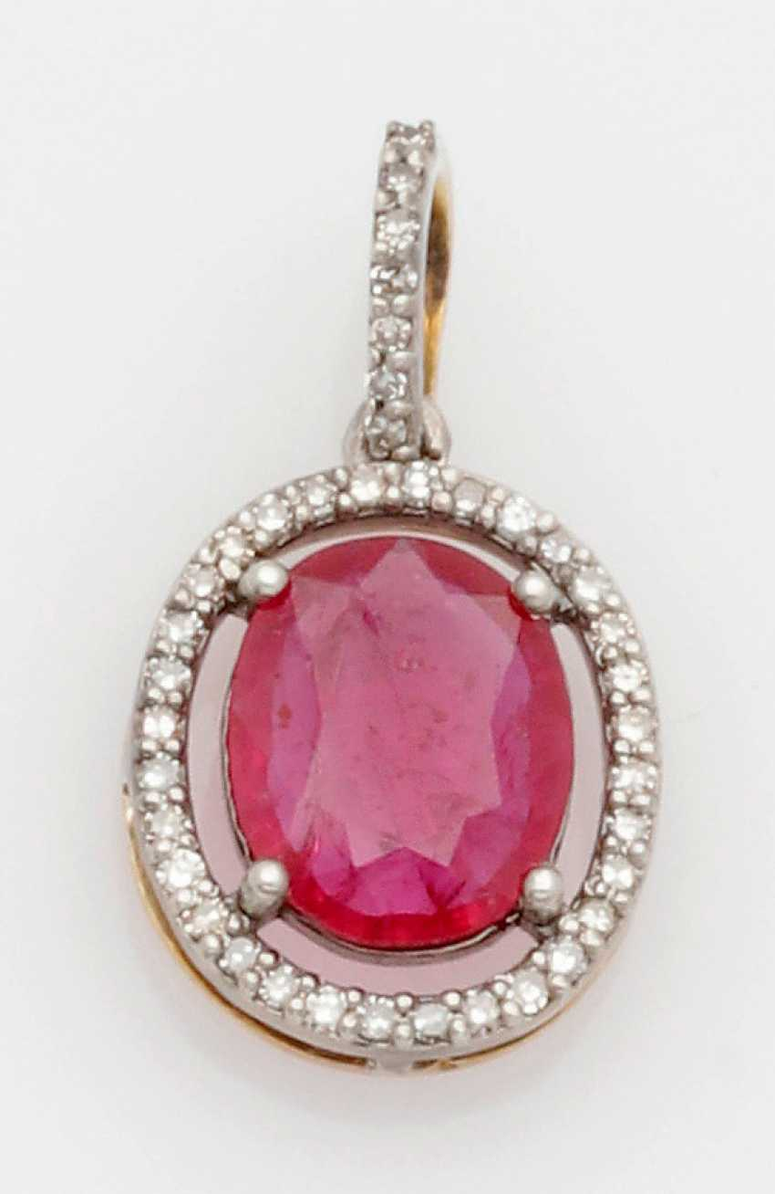 Russian Ruby Pendant - photo 1