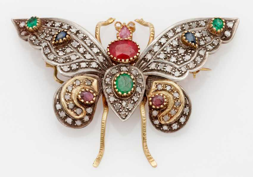 Russian Butterfly Brooch - photo 1