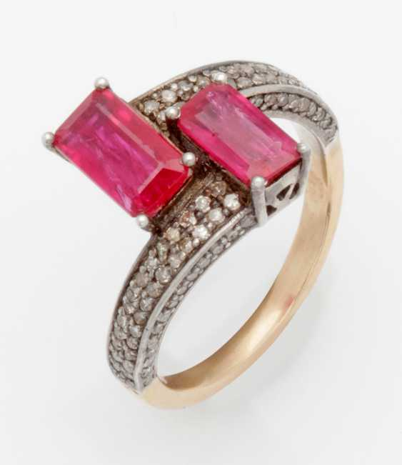 Russian Ruby Ring - photo 1