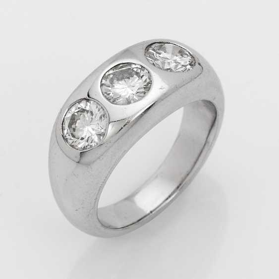 Severe Mr band ring with brilliant-Solitary - photo 1