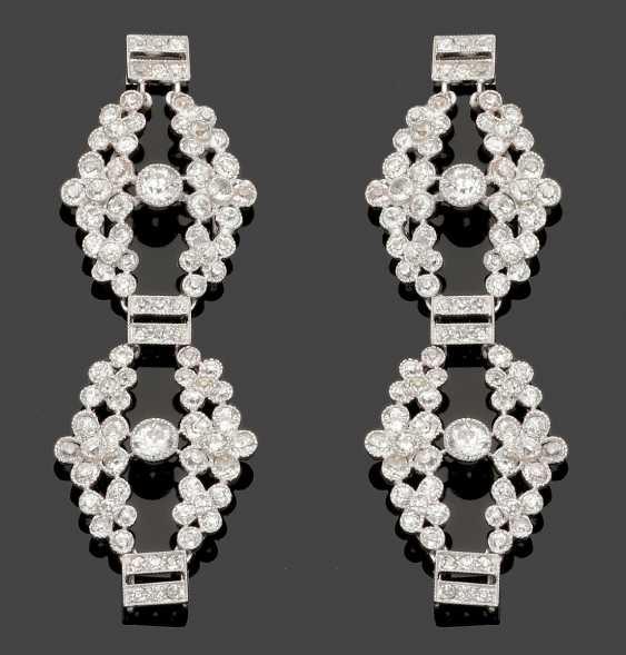 Magnificent art Nouveau Demi Parure with diamonds - photo 1