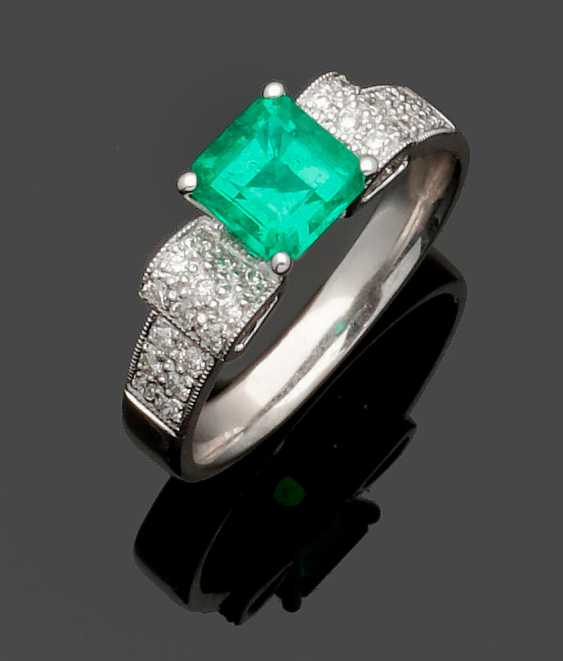 Brazilian Emerald Ring - photo 1