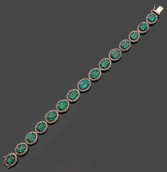 Russian Emerald Bracelet - photo 1