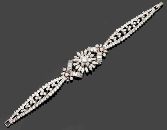 Glamorous diamond bracelet from the 50s - photo 1