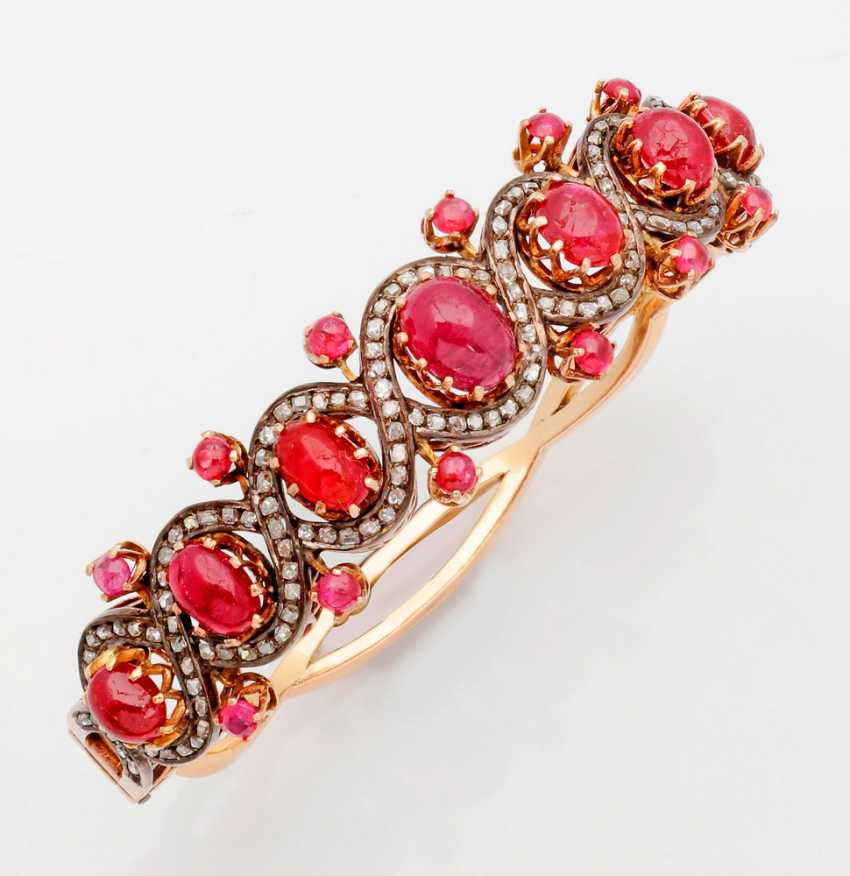 A Magnificent Ruby Bracelet - photo 1