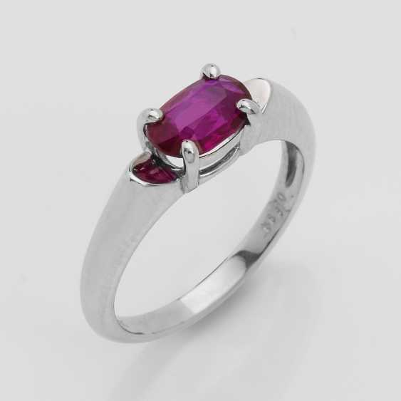 High Fine Ruby Ring - photo 1