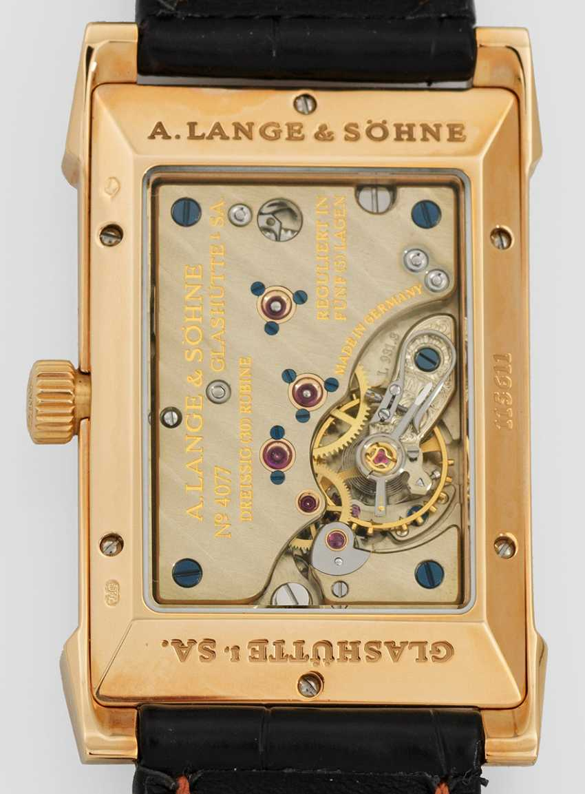 Gentleman's wristwatch by A. Lange & Söhne, Glashütte i. Sa. - photo 2
