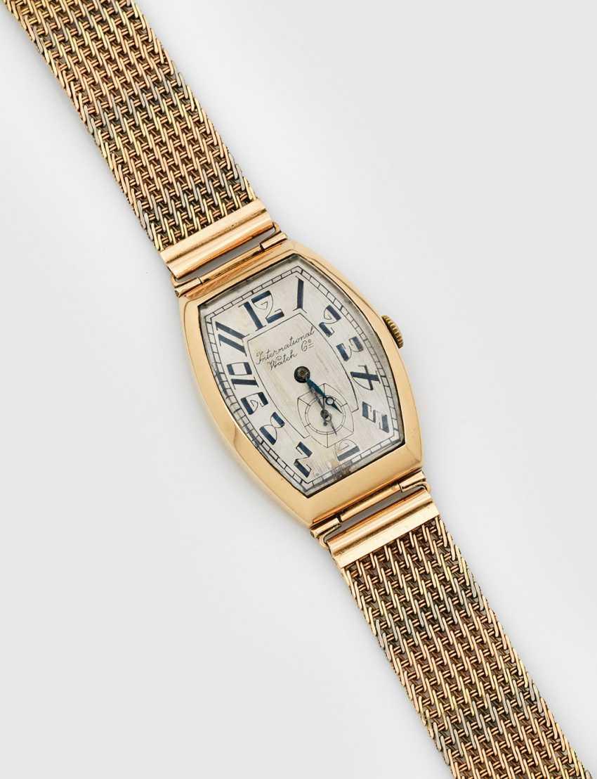 Art Deco gentleman's wristwatch by International Watch & Co - photo 1