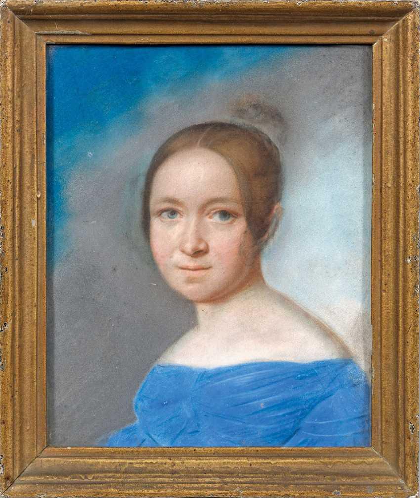 German portrait painter of the Biedermeier - photo 1