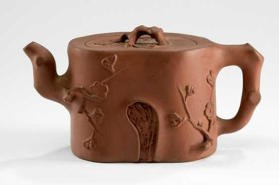 'Yixing'teapot in the Form of a plum tree root segment - photo 1