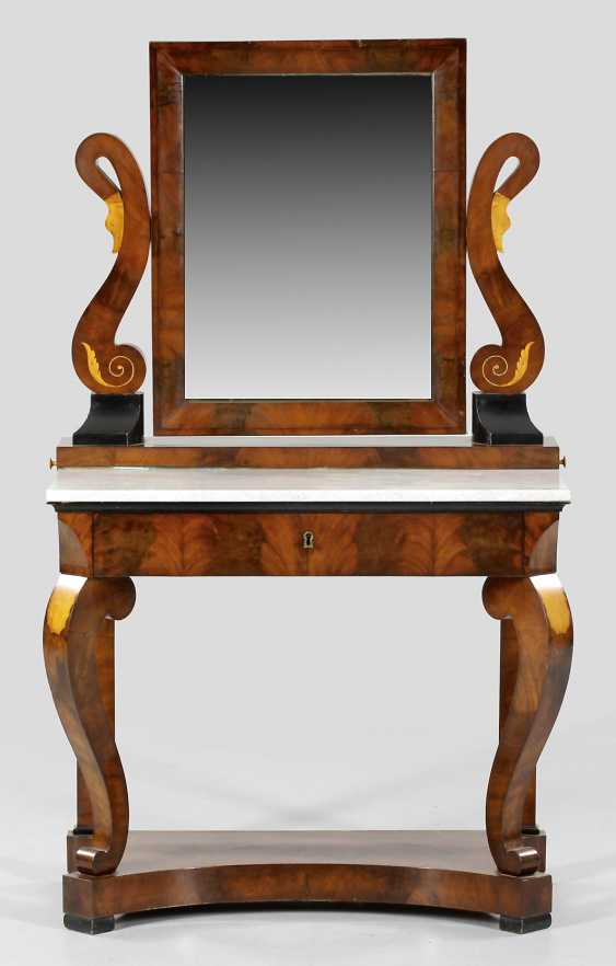 Biedermeier Mirror Console Table - photo 1