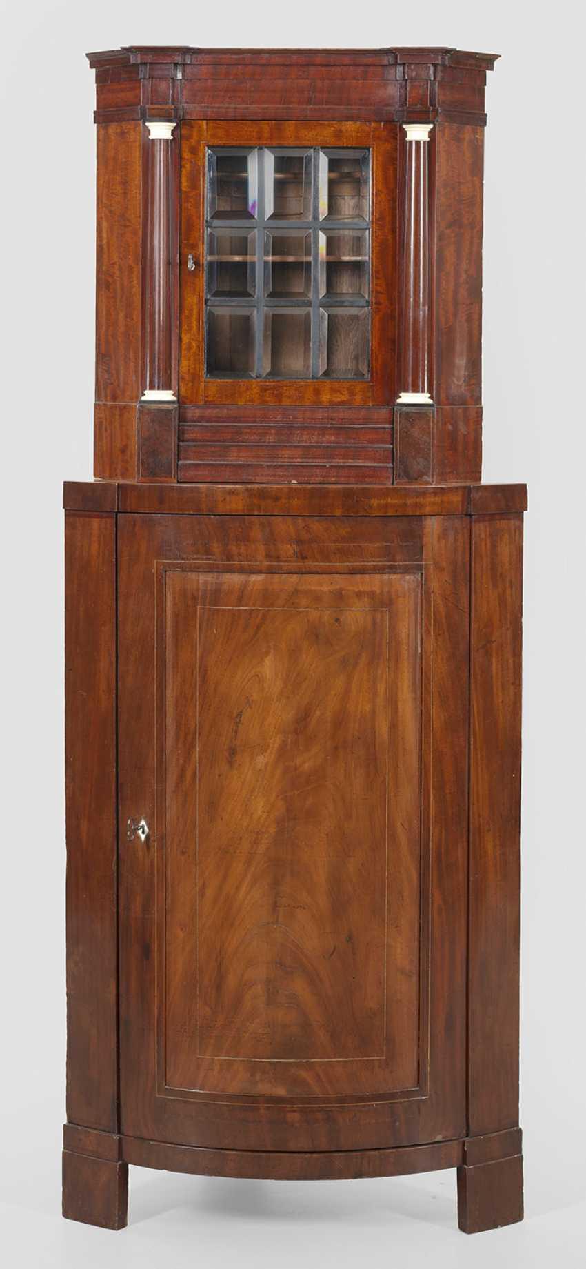 Biedermeier Corner Cabinet - photo 1