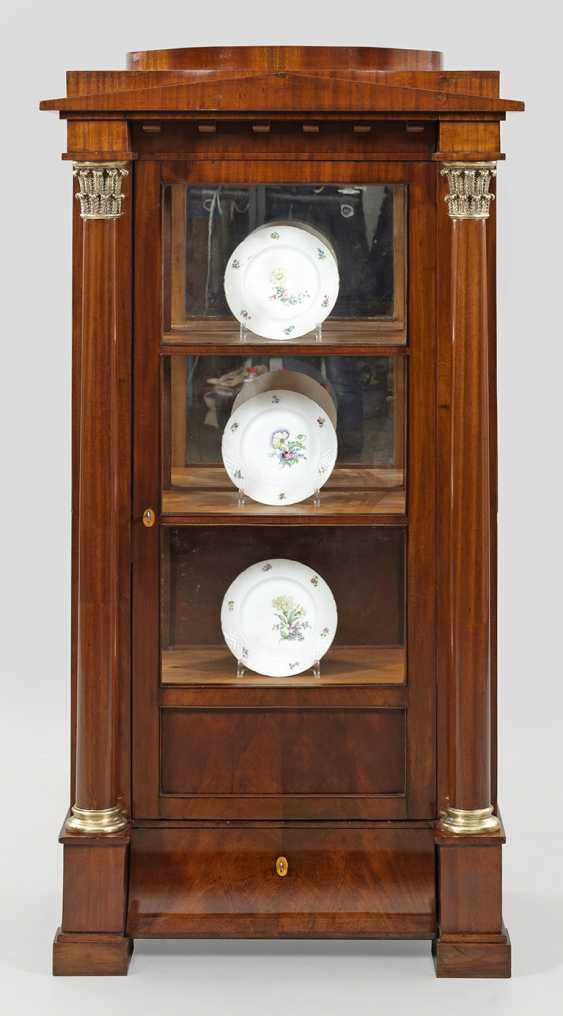 Biedermeier Vitrine Cabinet - photo 1