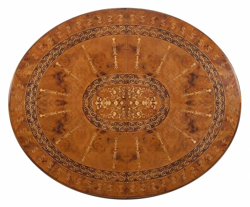 Large Victorian extending table - photo 3