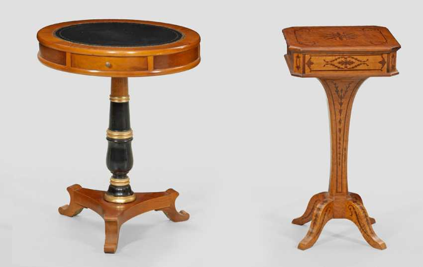 Two decorative side tables - photo 1